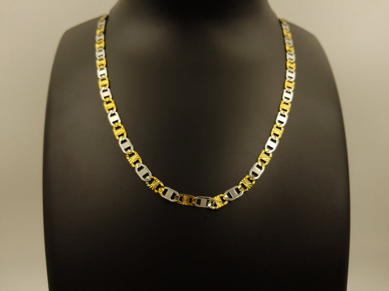 Gold & Silver Flat Designer Chains
