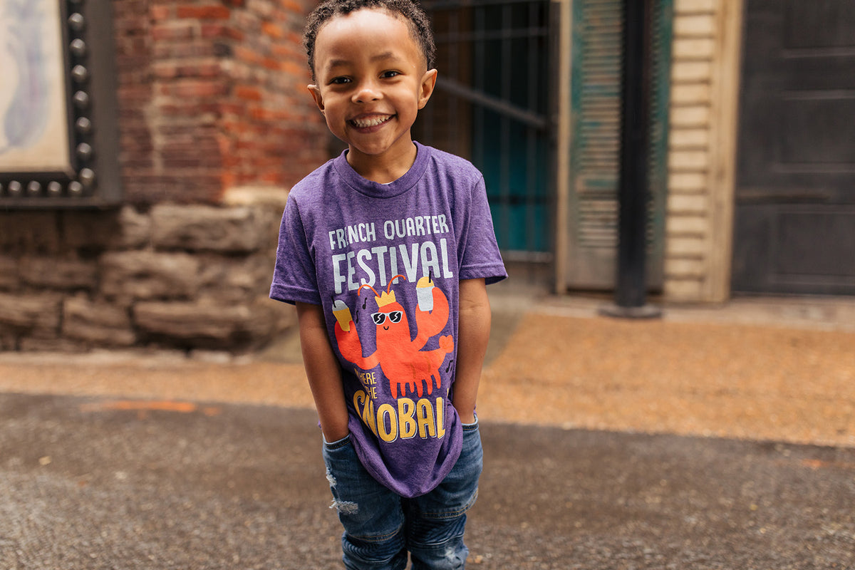 2019 French Quarter Festival Official Merchandise - Youth