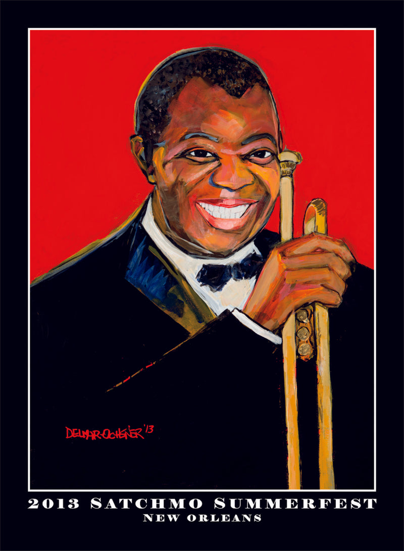 2013 Satchmo SummerFest Poster