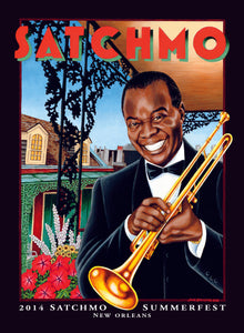 2014 Satchmo SummerFest Poster