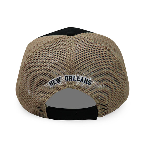 French Quarter Festival Headwear Jazzed Snapback Hat Cap - Back
