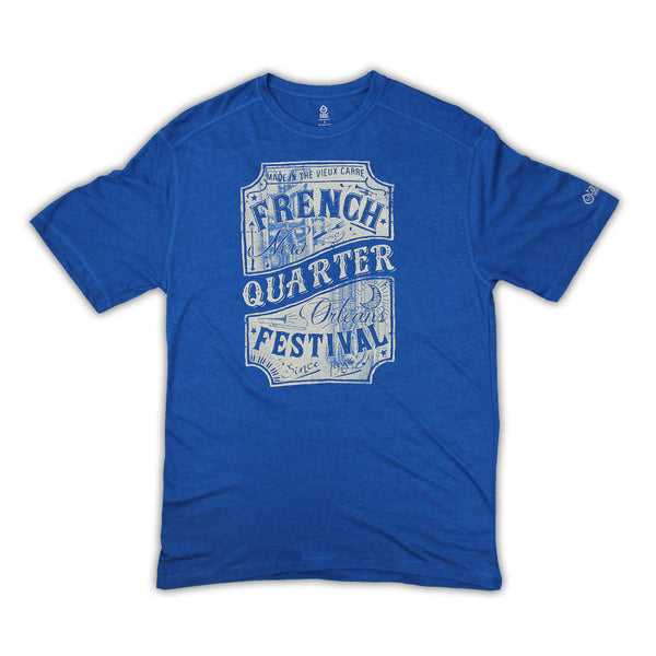 2016 French Quarter Festival Lineup T-Shirt - Front