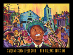 2018 Satchmo SummerFest Poster