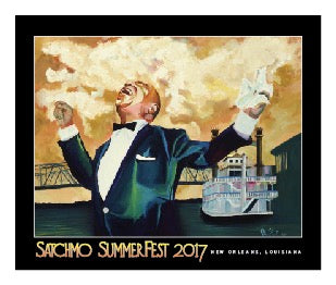 2017 Satchmo SummerFest Poster