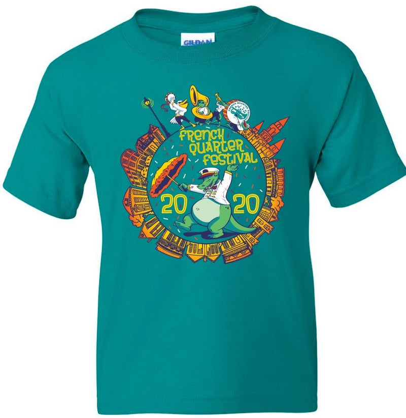 FQF 2020 Dancing Gator Youth Tee