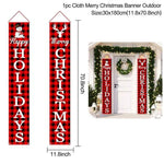 Logiid 2020 Nutcracker Soldier Banner Christmas Decor For Home