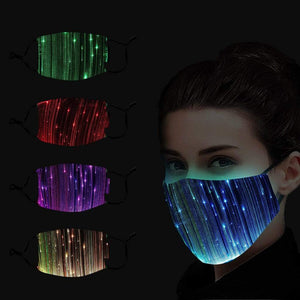 Logiid 7 Colors LED Light Face Maske Coolest Style