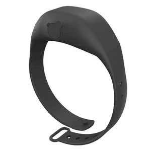 Logiid Black Hand Dispenser  Adjustable Wristband