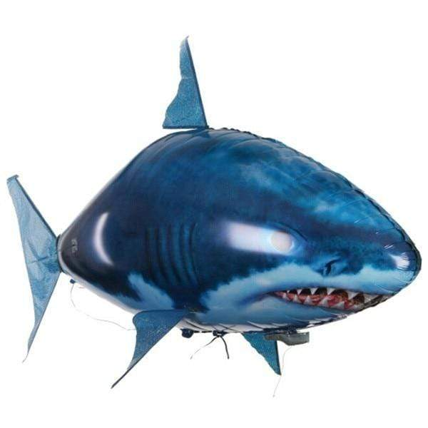 Logiid Blue Shark Remote Control Shark &Air Swimming Fish RC Balloons Best Gifts