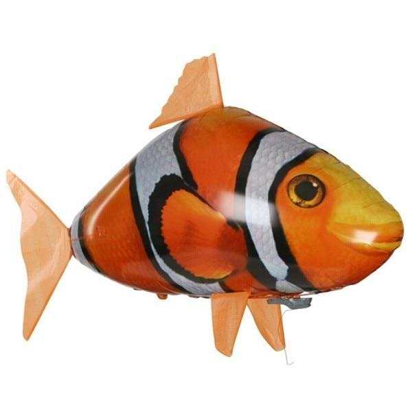 Logiid Golden Fish Remote Control Shark &Air Swimming Fish RC Balloons Best Gifts
