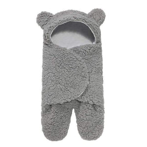 Logiid Gray 0-12 Months Winter Baby Sleeping Bag