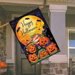 Logiid Halloween Pumpkin flag