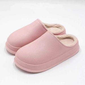 Logiid Pink / 45 Waterproof Non-Slip Home Slippers