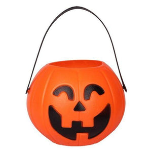 Logiid Pumpkin basket / S 7cm Halloween pumpkin mini candy basket For Kids Gift