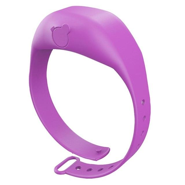 Logiid Purple Hand Dispenser  Adjustable Wristband