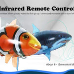 Logiid Remote Control Shark &Air Swimming Fish RC Balloons Best Gifts