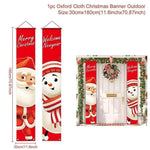 Logiid Santa Claus 2020 Nutcracker Soldier Banner Christmas Decor For Home