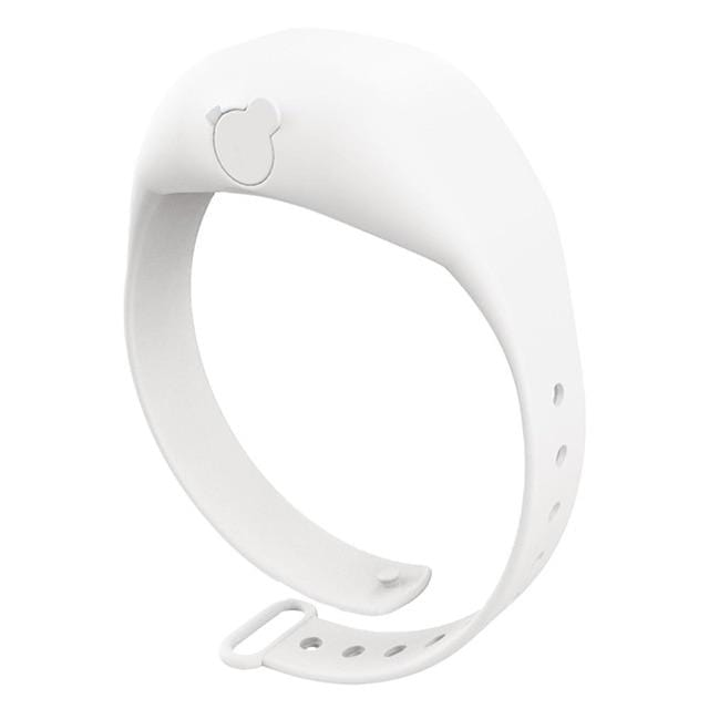 Logiid White Hand Dispenser  Adjustable Wristband