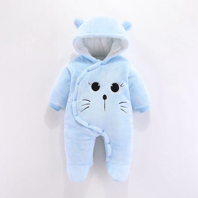 Logiid Winter Newborn toddle Bear Romper Boy girls 0-18M