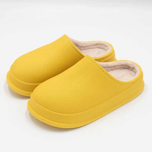Logiid Yellow / 38 Waterproof Non-Slip Home Slippers