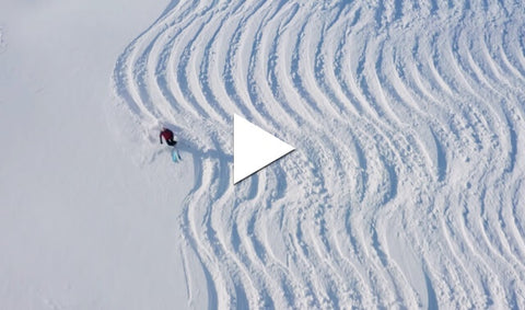 Skiing in a pattern