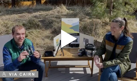 People unboxing Cairn Spring Obsidian Collection