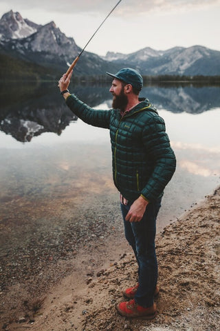 Sam Brockway Fishing Marmot Idaho