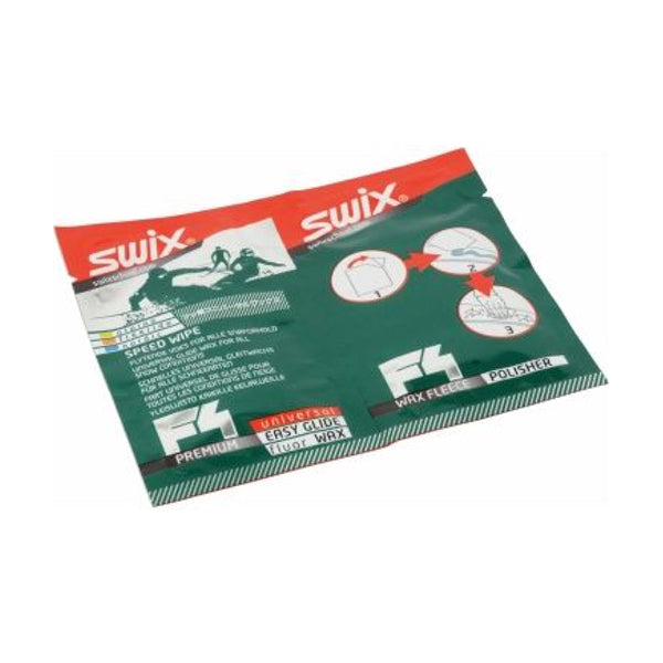 Ski Snowboard F4 Universal Fluoro Wax Speed Wipes