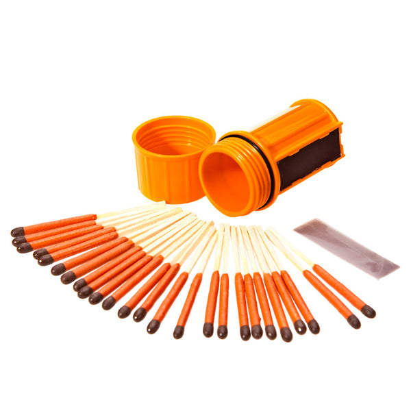 Stormproof Match Kit - Orange