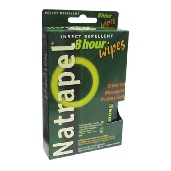 Natrapel Wipes 12 pack