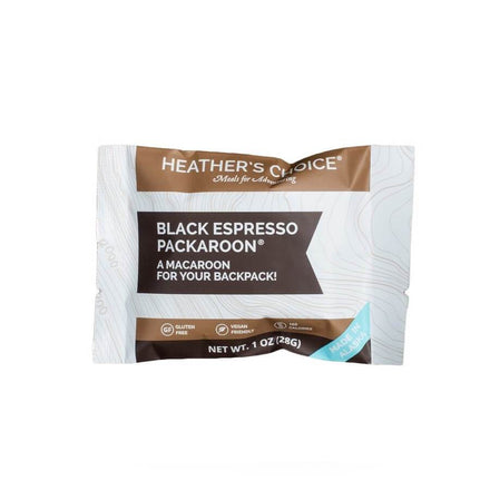 Heather's Choice - Black Espresso Packaroons