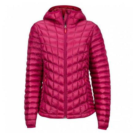 Women's Marmot Featherless Hoody (color Red Dahlia)