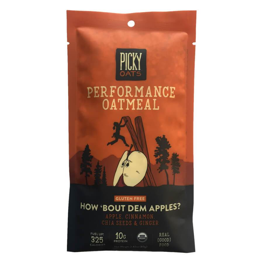 Performance Oatmeal - How 'Bout Dem Apples?