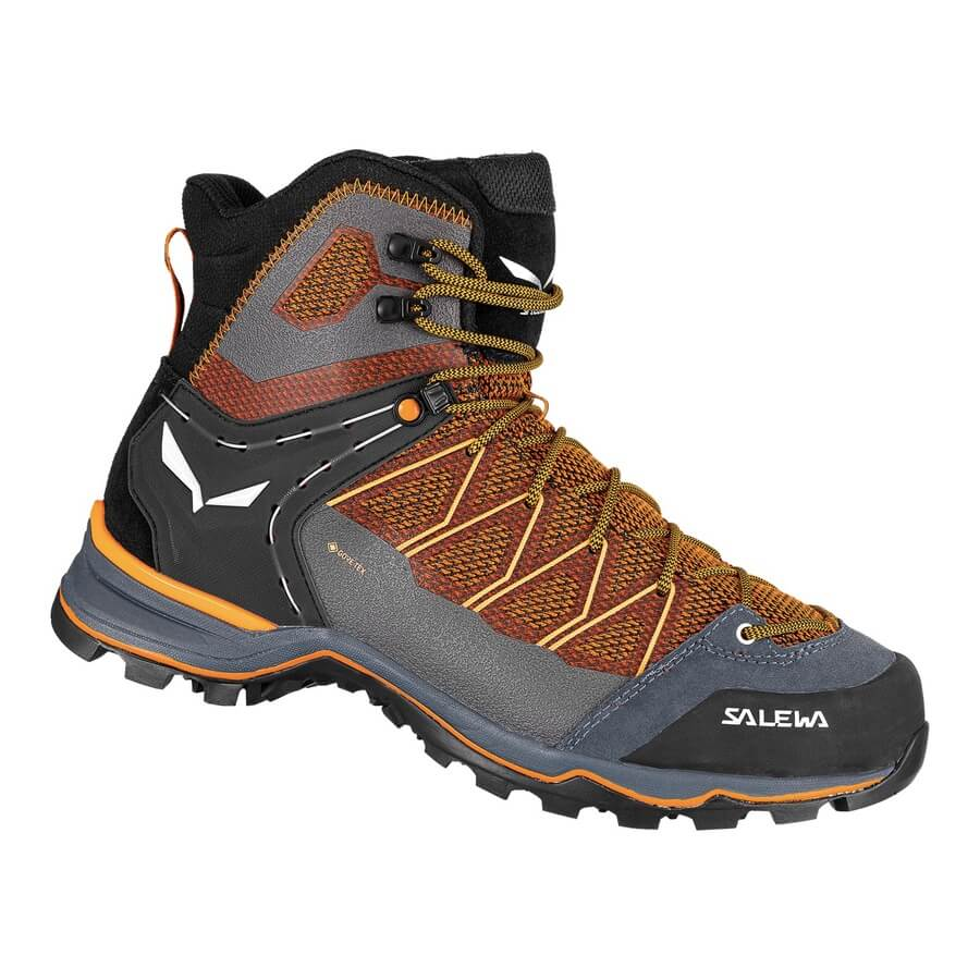 M's Mountain Trainer Lite Mid GTX - Blackout/Carrot