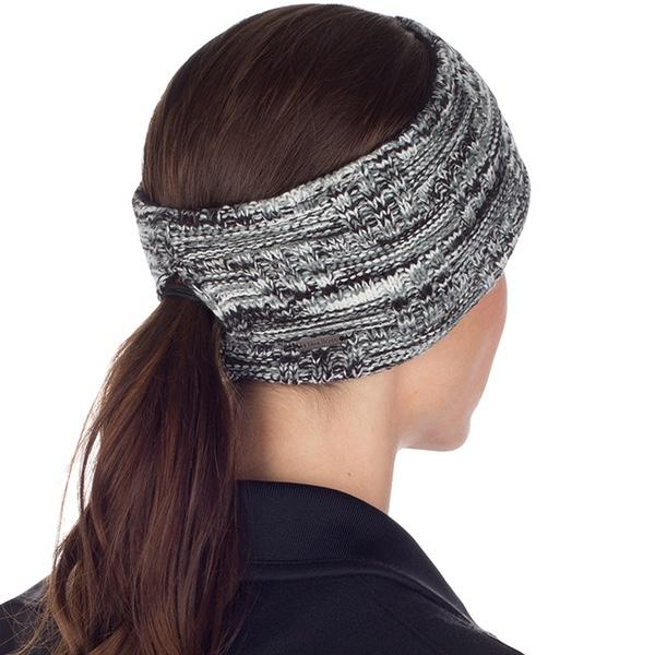 Women's Space Dye Knit Ponytail Headband