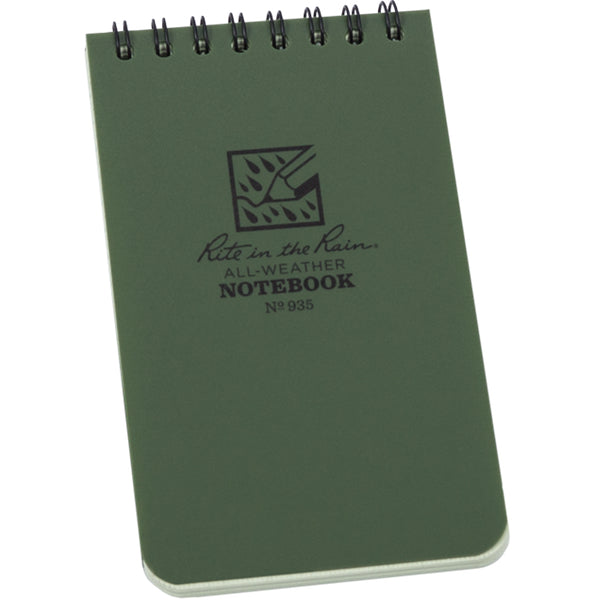 Pocket top spiral 935 notebook