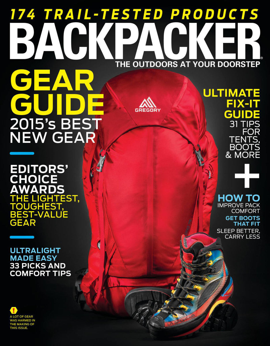 backpacker magazine spring gear guide cairn rh getcairn com Guide Gear Tree Stands Guide Gear Tree Stands
