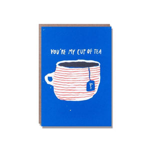 You're my cup of tea mini card
