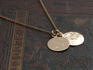 Heritage & Radiance Coin necklace, gold