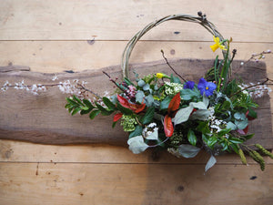 Spring wreath making workshop