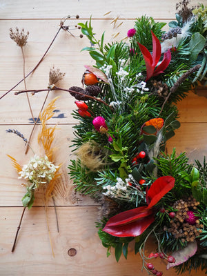 Festive wreath making workshops