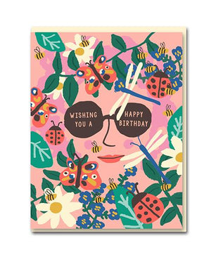 'Birthday shades' card