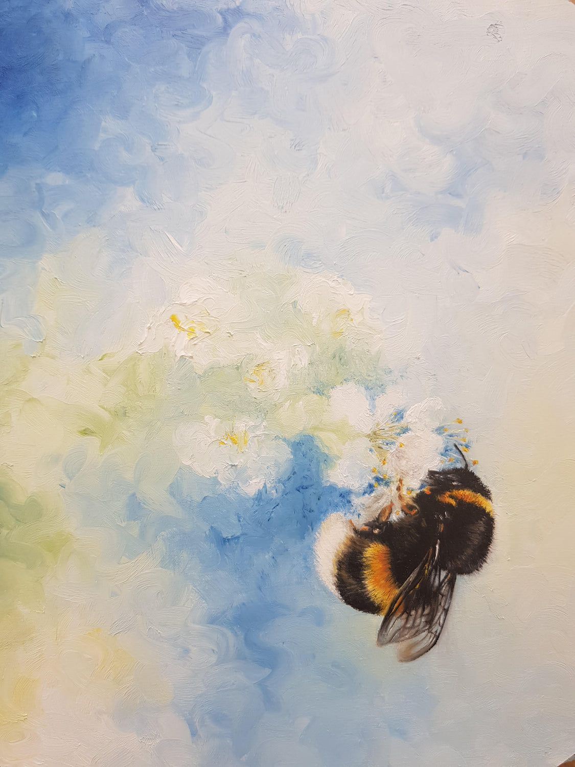 Oil Painting - The Bee, with Anna Reed Fine Art