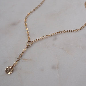Jazzy droplet necklace