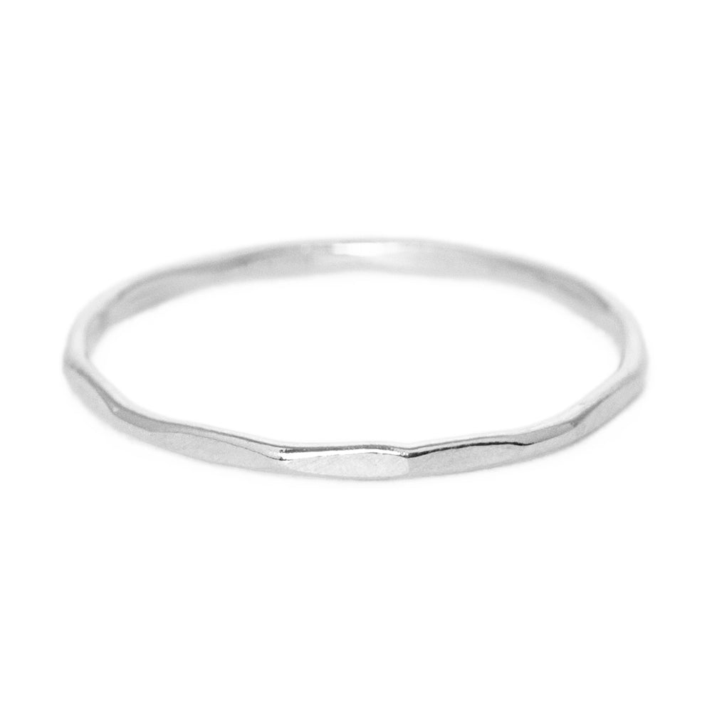 Tide ring silver
