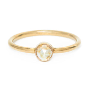 Citrine Orb ring