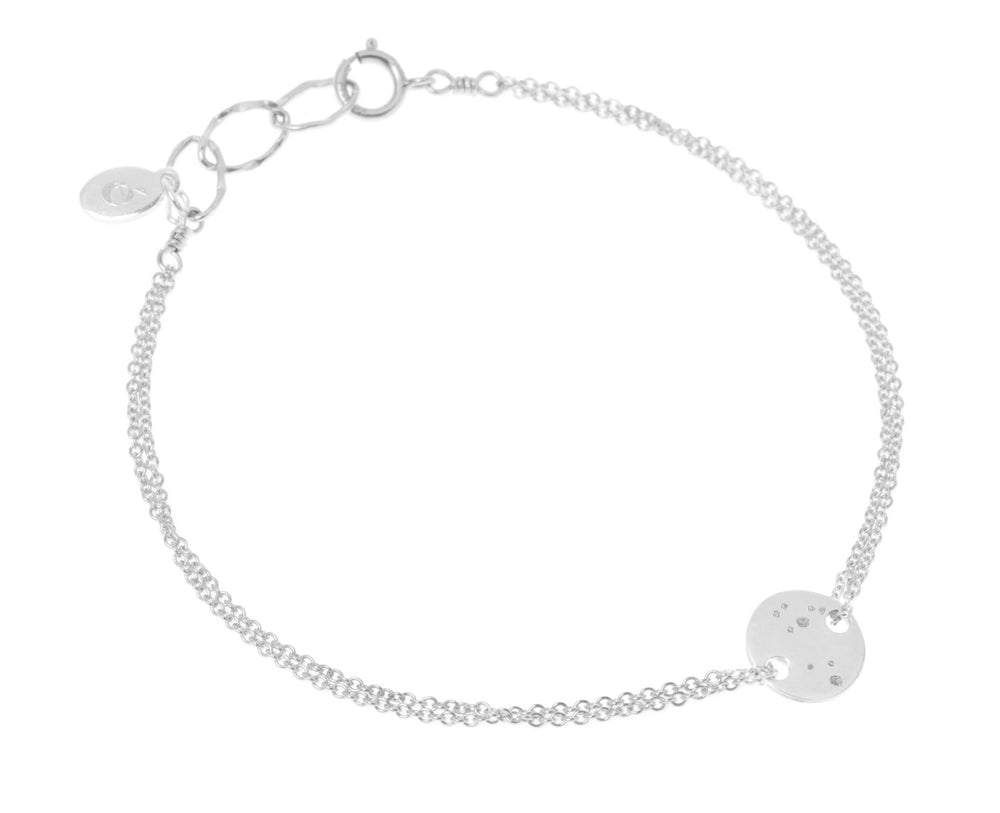 Constellation bracelet silver