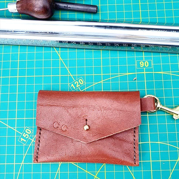 Leather Coin Purse Workshop