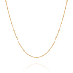 La Lune necklace, gold