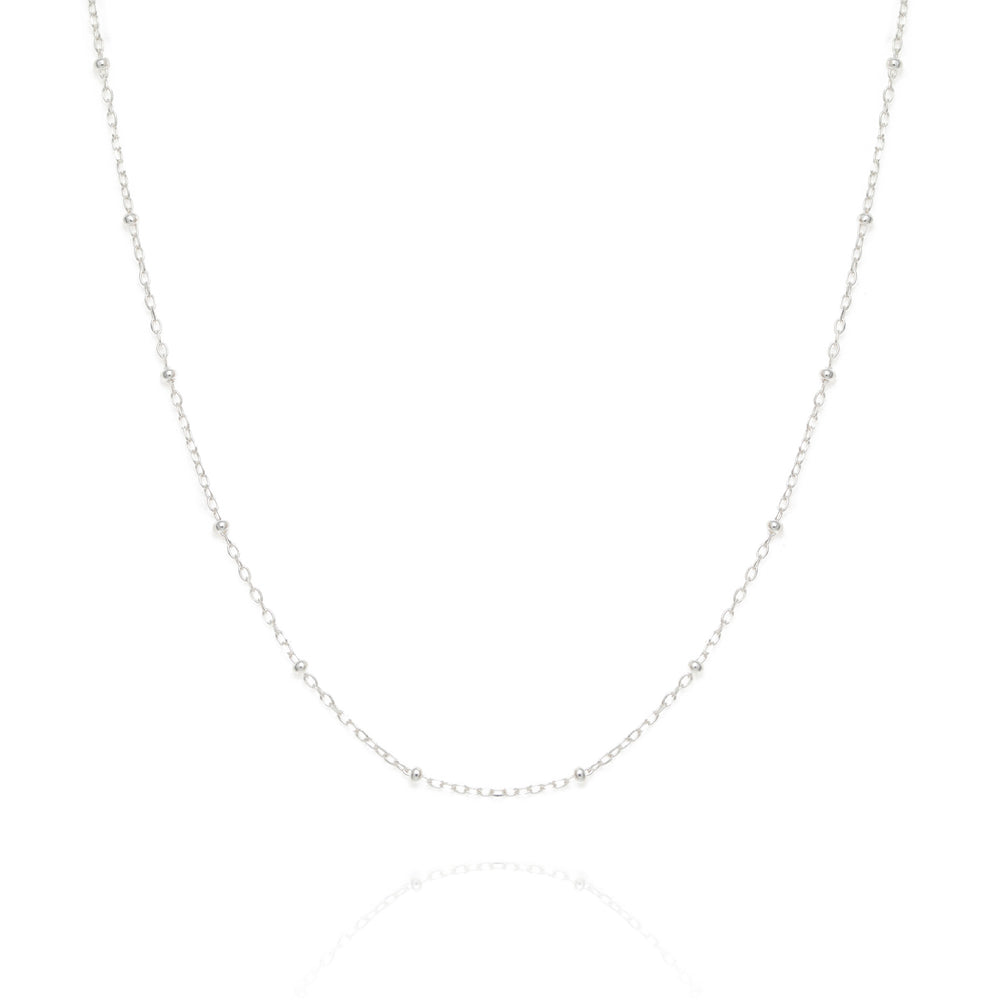 La Lune necklace, silver